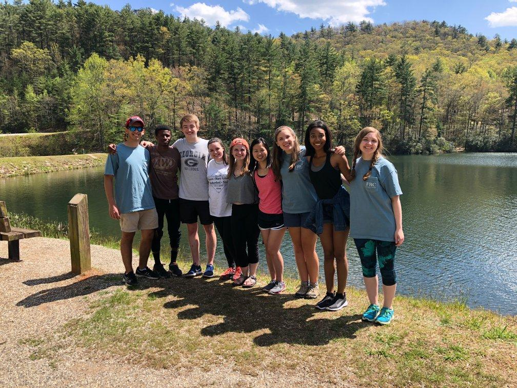 Vogel State Park Trip Group
