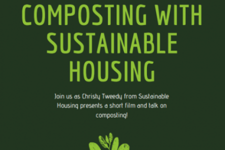 Composting with Sustainable Housing poster