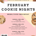 February Cookie Nights poster